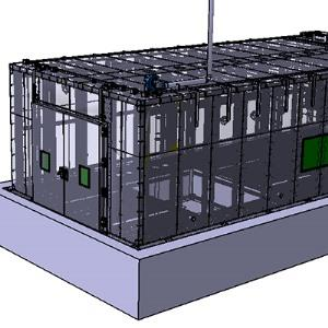 Environmental simulation warehouse