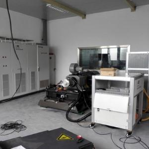 Three-conductor motor test bench